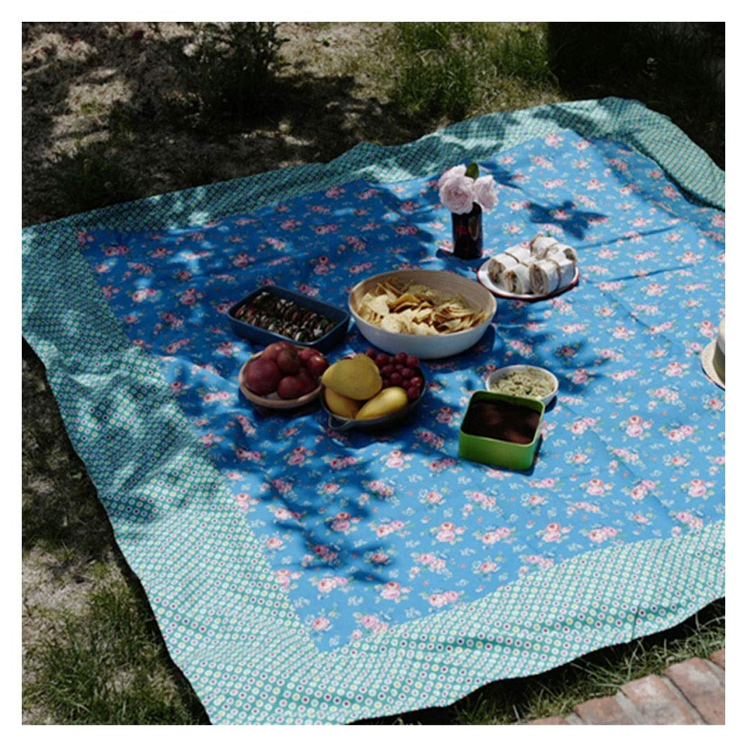 Picnic Blanket Waterproof Cotton Mat Pet Pad Outdoor Sleeping Mat,Beach Camping Barbecue (Color : #2) by FZZ-Picnic Blanket
