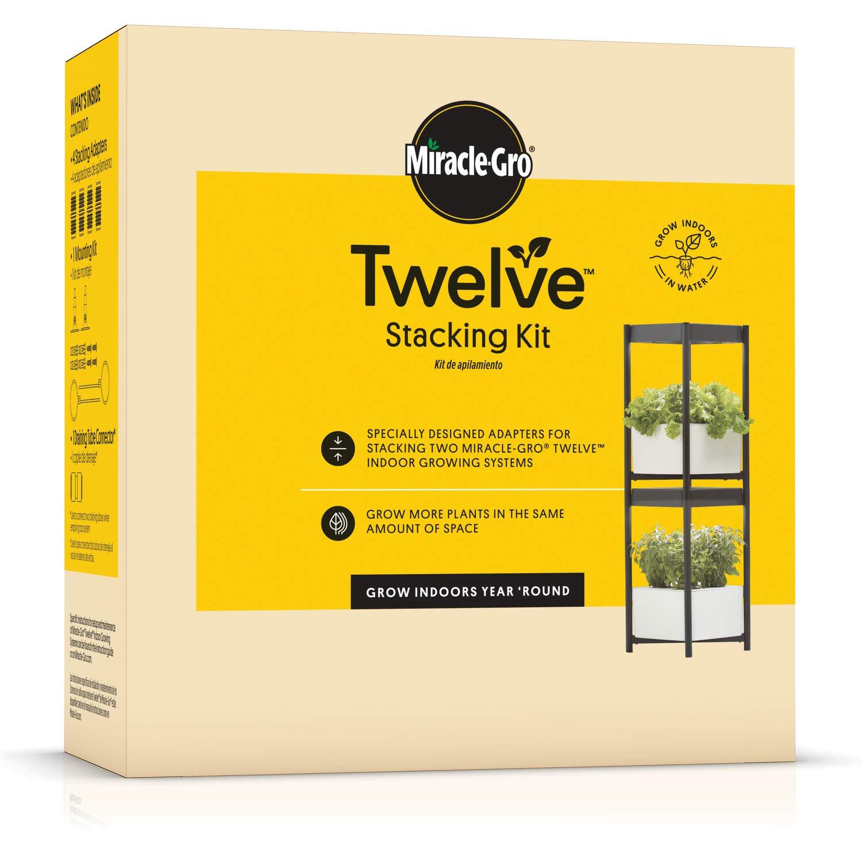 Miracle-Gro 4500710 Twelve Stacking Kit, White