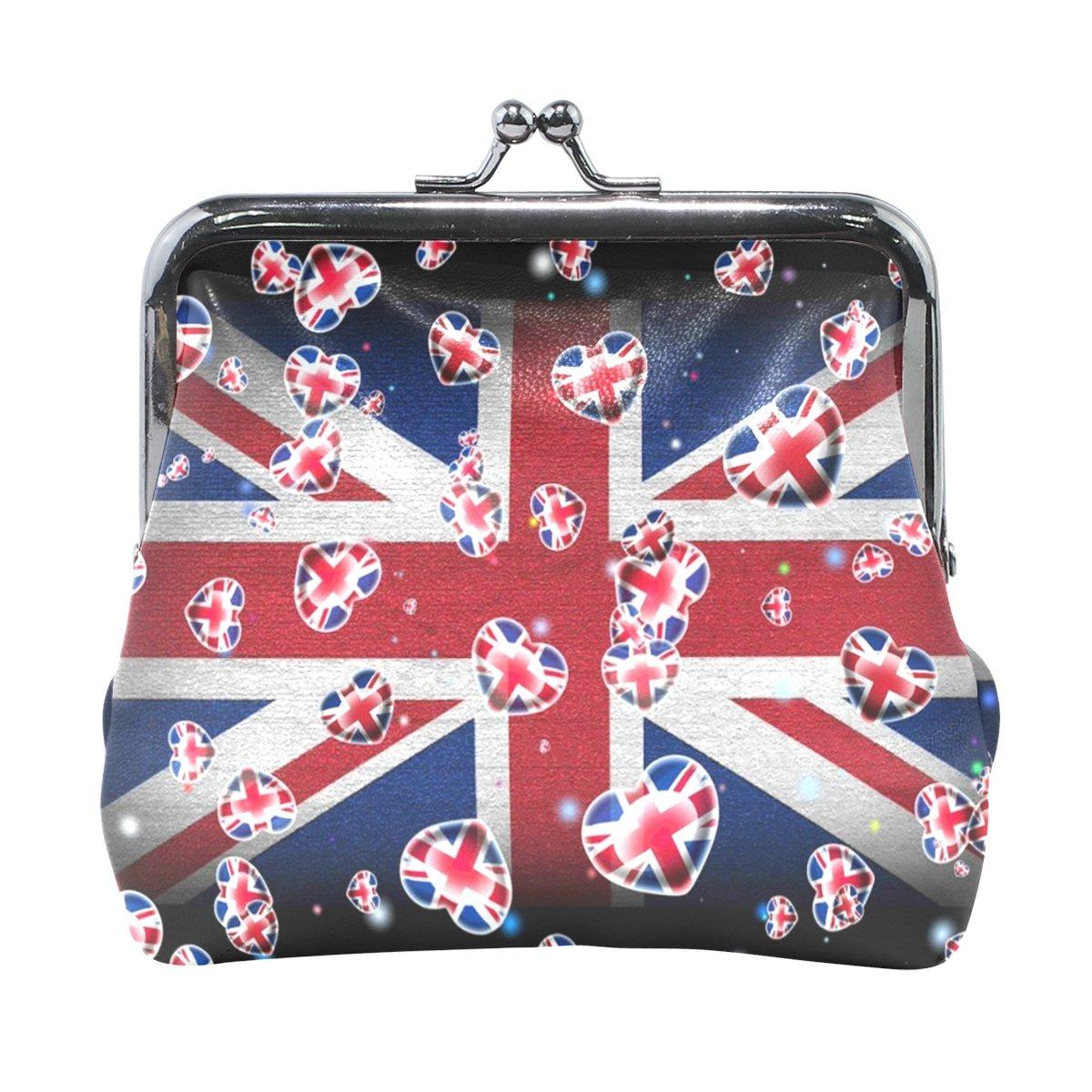 MaMacool British Flag Coin Pouch Purse Womens Wallet Card Holder Coin Purse Clutch Handbag by MaMacool