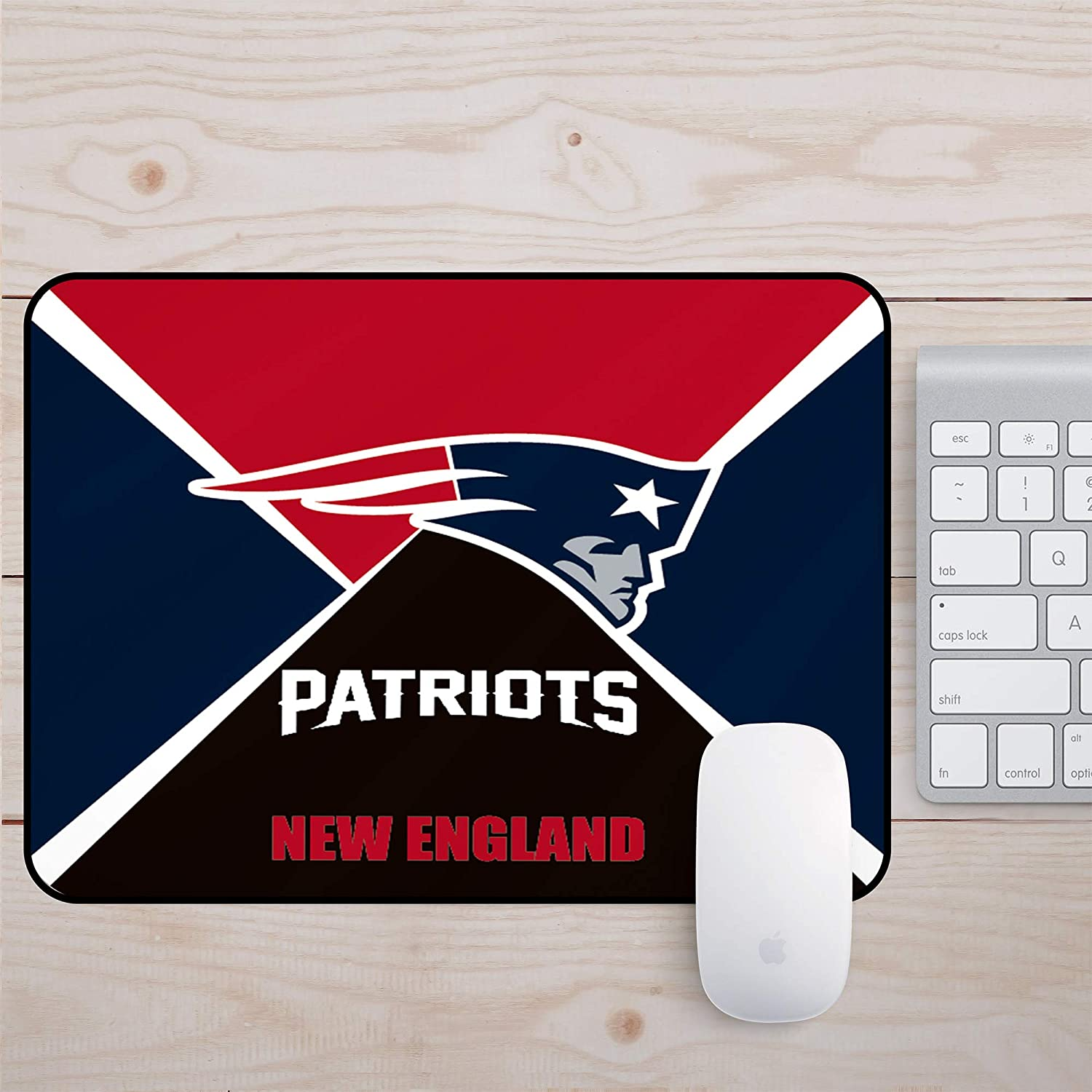 Square Mouse Mat//Gaming Mouse Pad 8x10x0.8Inch Precision and Speed Rubber Base for Stable Grip Football Team Logo Creative Custom Mouse Pad New Orleans Saints