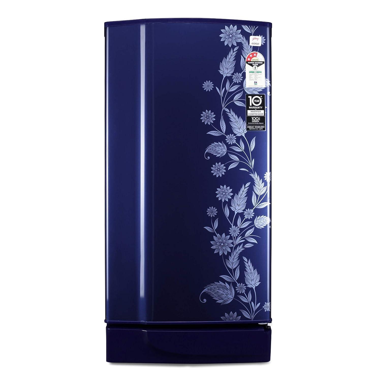 Godrej190L3StarInverterDirect-CoolSingleDoorRefrigeratorRD1903PTI33DRBLRoyalDrenimInverterCompressor