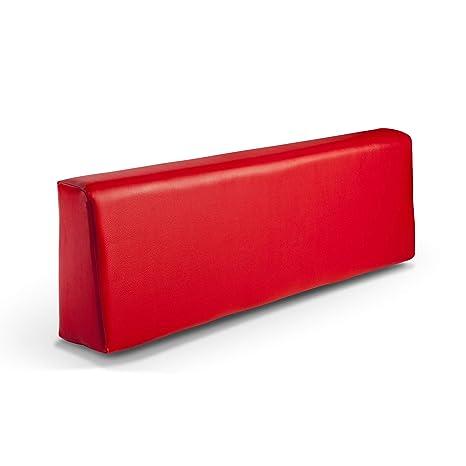 SUENOSZZZ-ESPECIALISTAS DEL DESCANSO Respaldo colchoneta para Sofas de Palet Color Rojo (1 x Unidad) Cojin Relleno con Espuma | Cojines para Chill ...