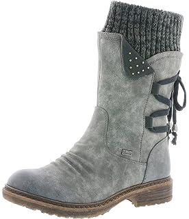 Rieker Damen 94763 Kurzschaft Stiefel: : Schuhe