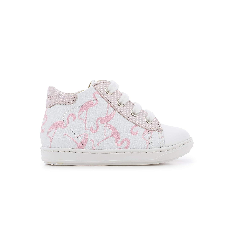 White//Pink Shoo Pom Bouba Duck Flamingo