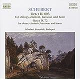 Schubert: Octet D. 803; Octet D. 72