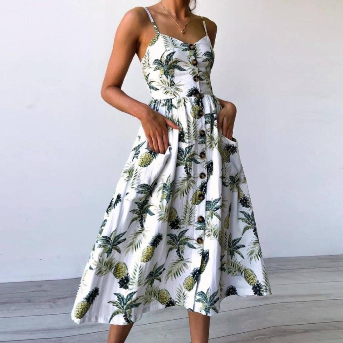 Donna Abito Vestiti Elegante 72afe4292a7