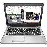 Lenovo Ideapad 300 80Q700UEIN 15.6-inch Laptop (Core i5-6200U/4GB/1TB/DOS/2GB Graphics), Silver