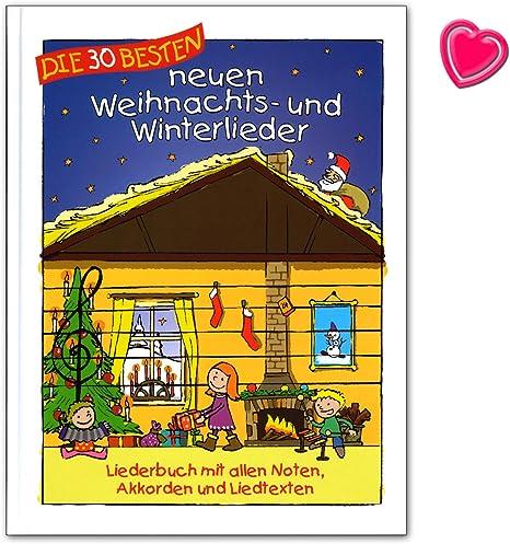 Los 30 mejores canciones de Navidad y de invierno - Liederbuch con ...