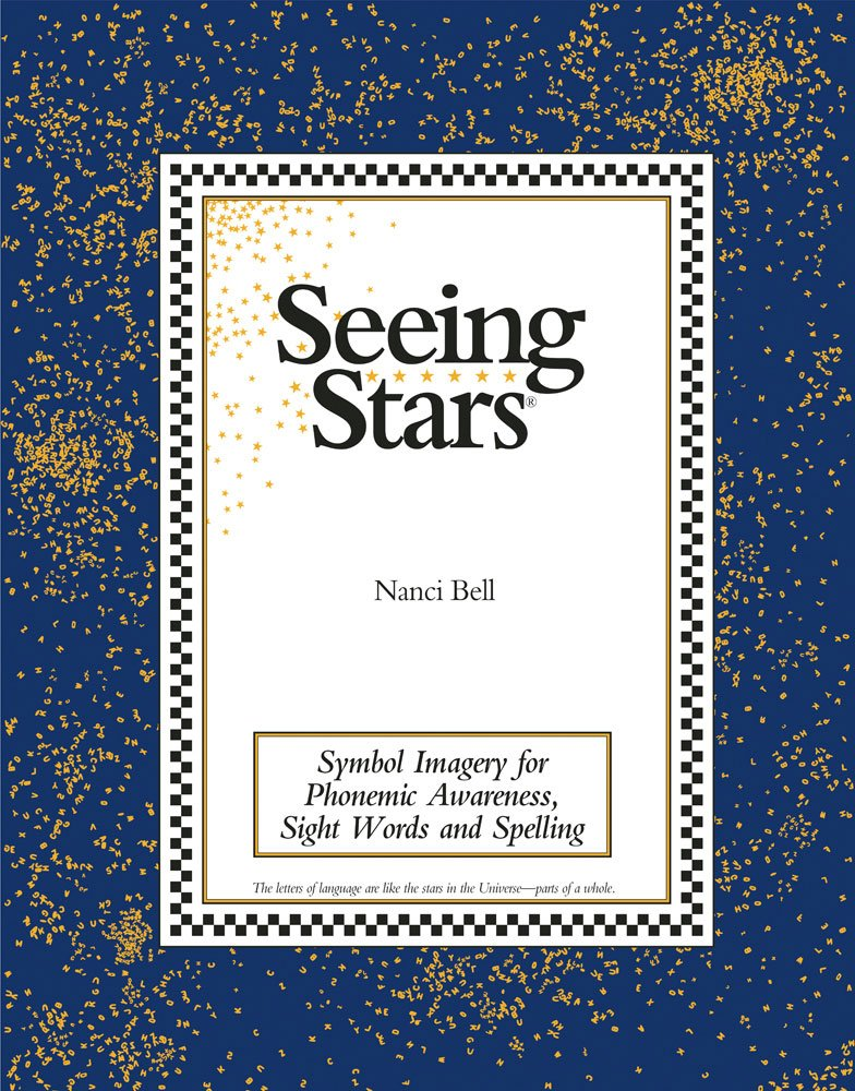 Seeing stars symbol imagery for phonemic awareness sight words seeing stars symbol imagery for phonemic awareness sight words and spelling nanci bell 9780945856061 amazon books fandeluxe Ebook collections