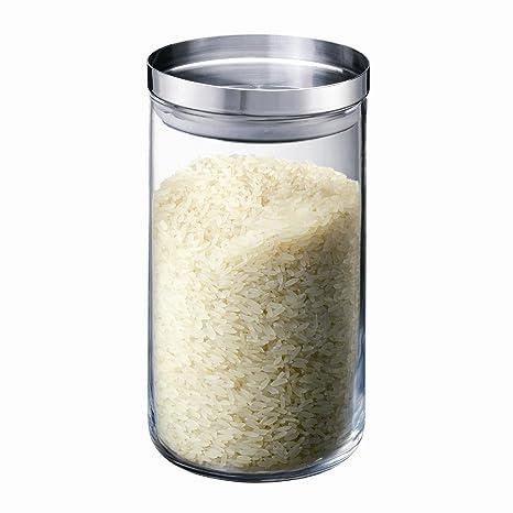 Amazon.com: Bodum yohki vidrio Medio de almacenamiento Jar ...