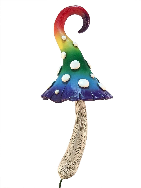Enchanted Miniature Red Mushroom for a Miniature Fairy Garden Fairy Garden Accessory A Gnome