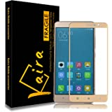 Kaira Redminote3_1 0.3mm Pro+ Gold colour Tempered Glass Screen Protector For Xiaomi Redmi note 3