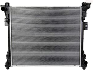 Klimoto Radiator | fits Chrysler Town and Country Dodge Grand Caravan Volkswagen Routan 3.6L 3.8L 4.0L V6 | Replaces CH3010345 4677751AA 4677755A 4677755AE 4677755AE