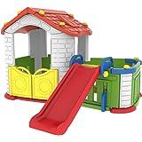 بيت اطفال كبير مع زحليقة صناعة كوري