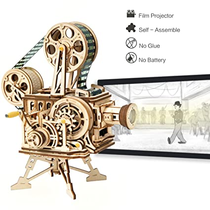 Amazon Com Robotime 3d Wooden Puzzle Craft Kits For Adults