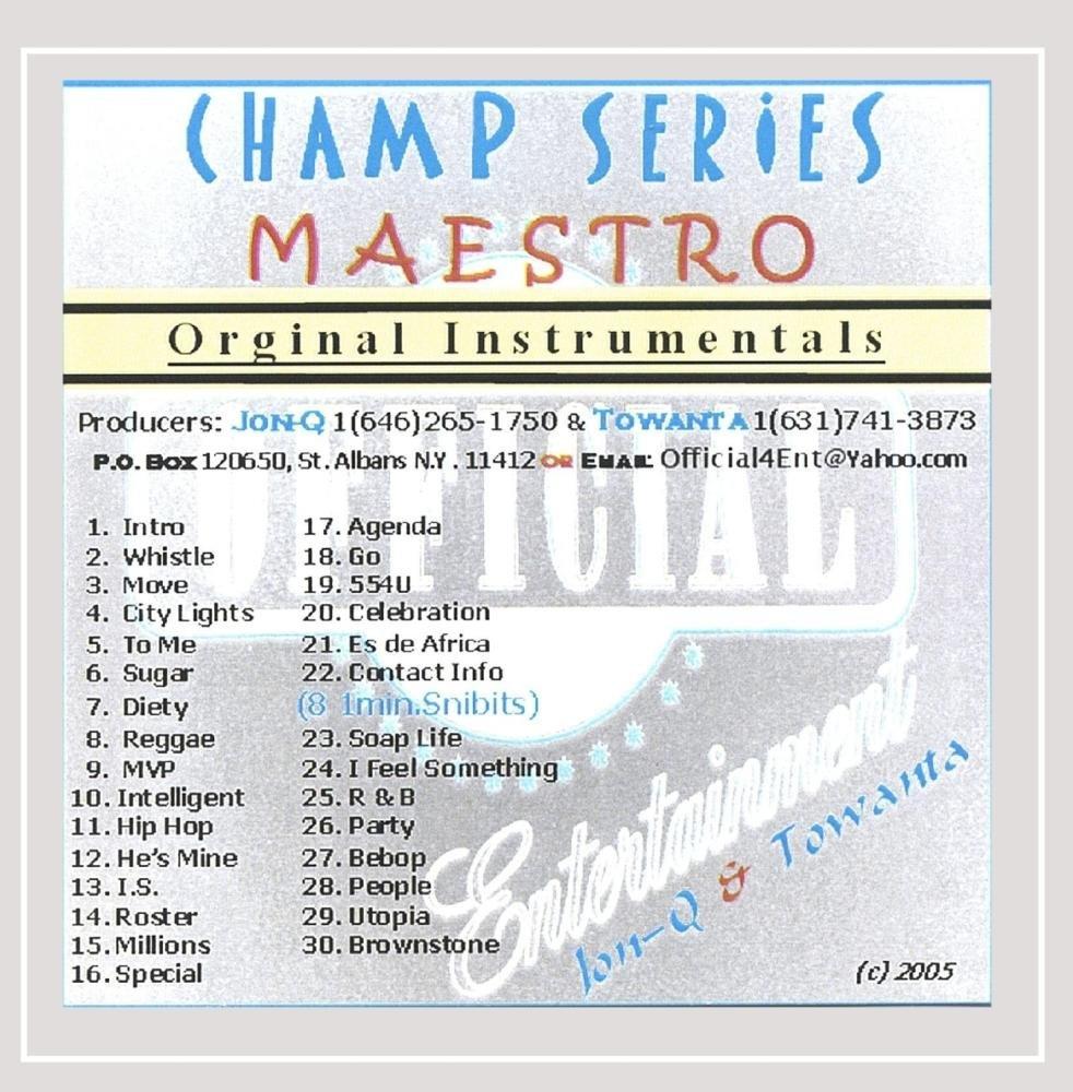 Champ Series Maestro: Jon-Q.: Amazon.es: Música