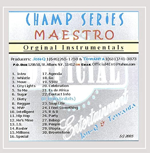 Champ Series Maestro: Jon-Q.: Amazon.es: Música