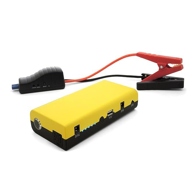 MAXTOOLS JSL260 Arrancador con batería de litio de 12 V y 500 A (batería portátil): Amazon.es: Coche y moto