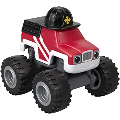 Fisher-Price Nickelodeon Blaze & The Monster Machines, Fire Rescue Firefighter: Toys & Games