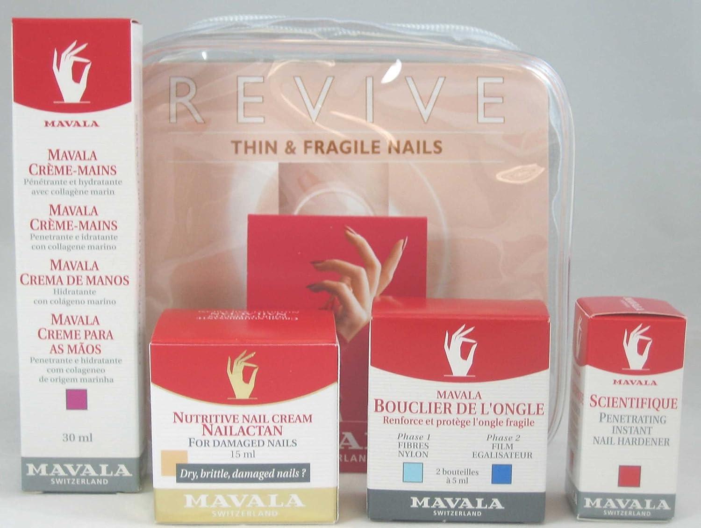 Mavala - Kit para uñas finas y frágiles Kit Uñas Finas y Frágiles MAVALA