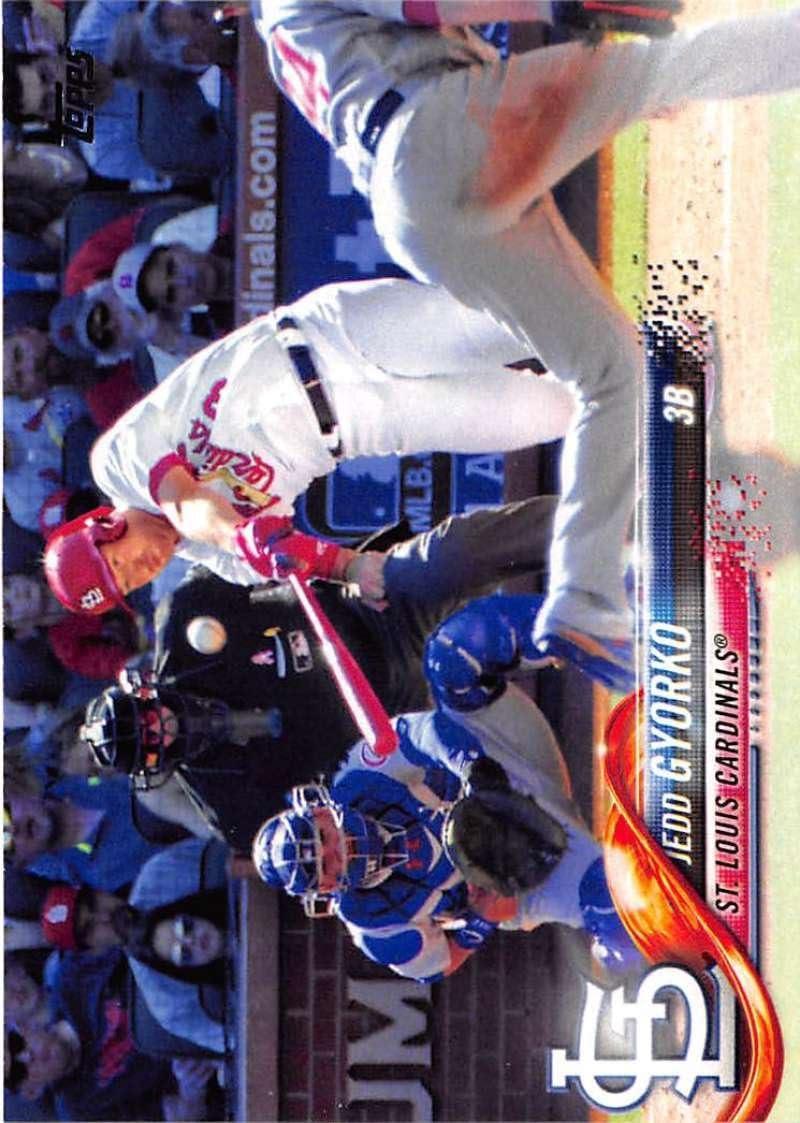 2018 Topps #189 Jedd Gyorko St. Louis Cardinals Baseball Card