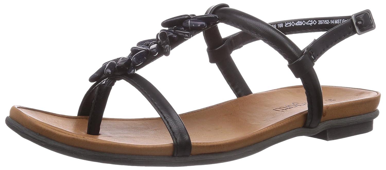 Bugatti Womens W59776n Strap Ankle Black Sandals Schwarzschwarz KT1cl3JF