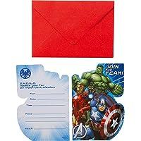 Amscan internacionales Avengers Invita y Sobres