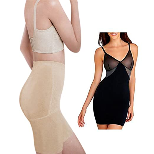 aff8cb3c97f9d Amazon.com  Imperial Home Body Sculpting Shapewear For Women - Body Shaper  Girdle (Large)  Clothing