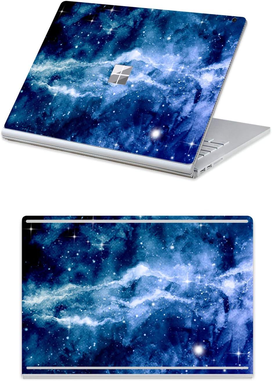 2017 ver/öffentlicht 13 Zoll Schutzh/ülle Marmor-Blau mit Schwarz for 15 Surface Book 2 33,8 cm 13 Zoll MasiBloom 2-in-1 Laptop-Sticker f/ür 33 cm Microsoft Surface Book 2