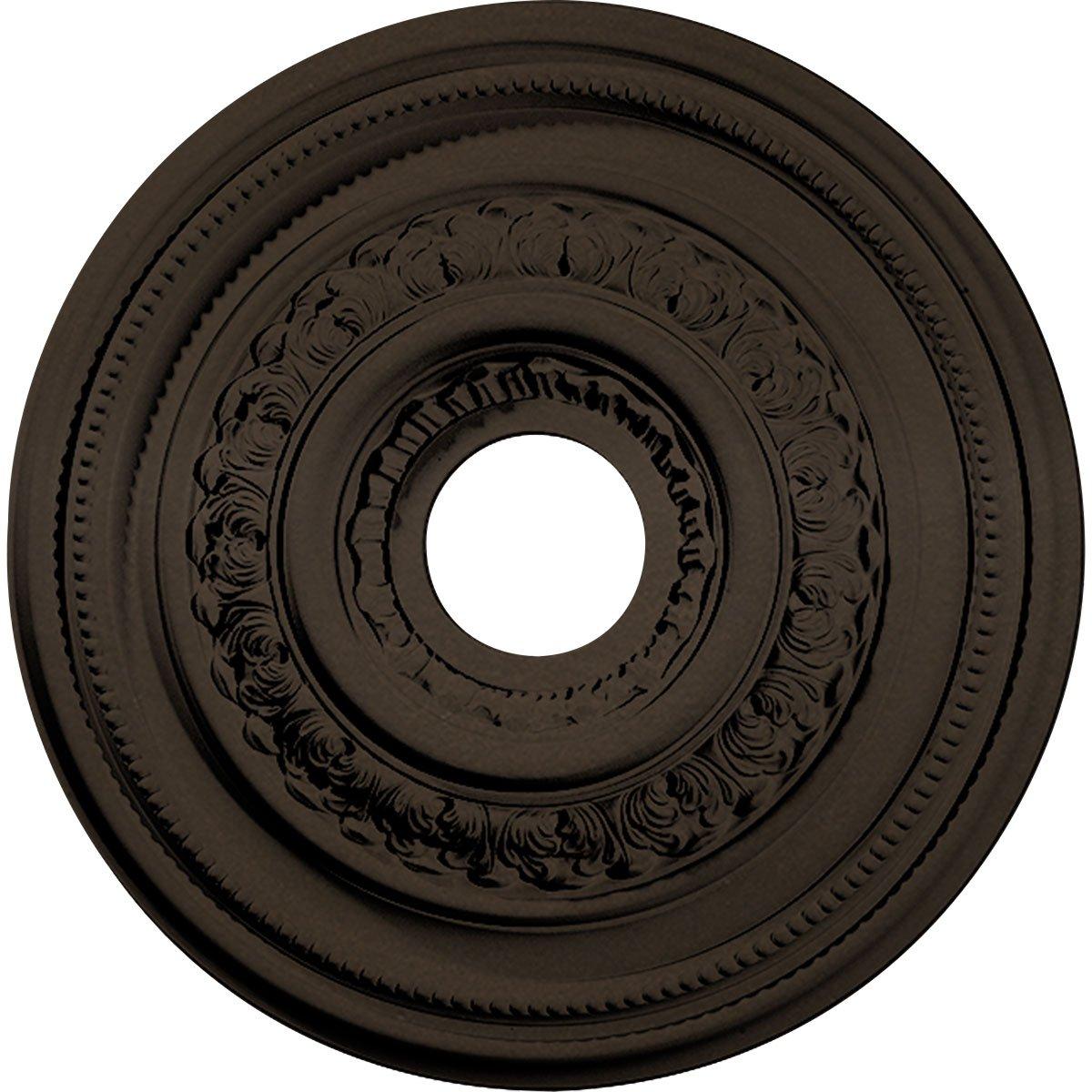 Ekena Millwork CM17OLBZS Orleans Ceiling Medallion, Bronze