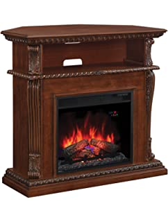 Amazon.com: ClassicFlame Corinth Infrared Electric Fireplace Media ...