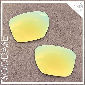 SOODASE Para Oakley Sliver XL Gafas de sol Negro/Dorado/Plata ...