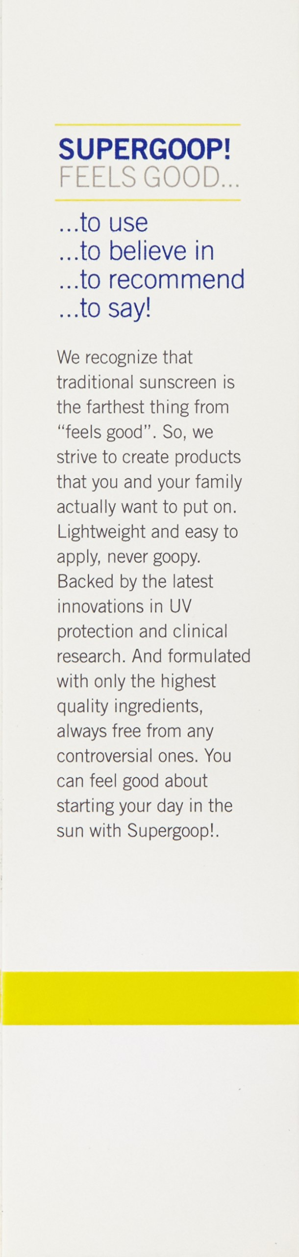 Supergoop! Everyday Sunscreen with Cellular Response Technology SPF 50, 2.4 fl. Oz. by Supergoop! (Image #4)