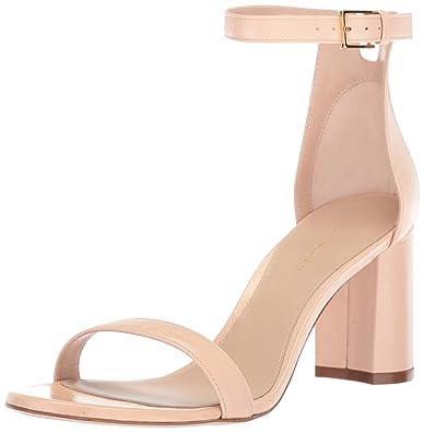 7244b1907f0 Amazon.com  Stuart Weitzman Women s 75LESSNU Heeled Sandal  Shoes
