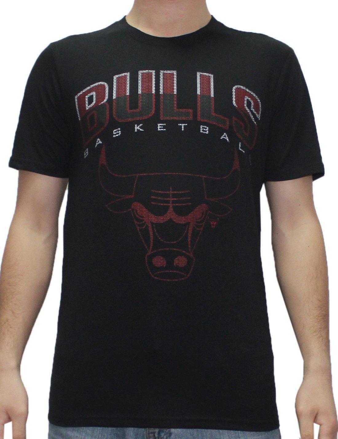NBA Mens CHICAGO BULLS: Athletic Short Sleeve T Shirt M Black by NBA