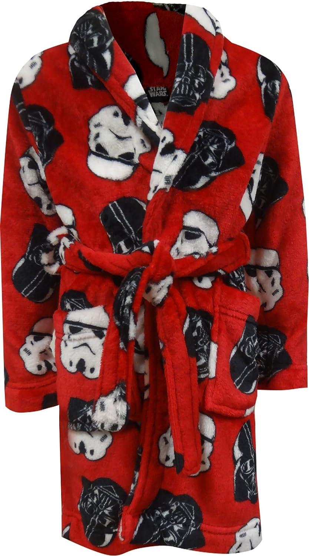 Star Wars Boys' Darth Vader Stormtropper Plush Robe ST291BRD4