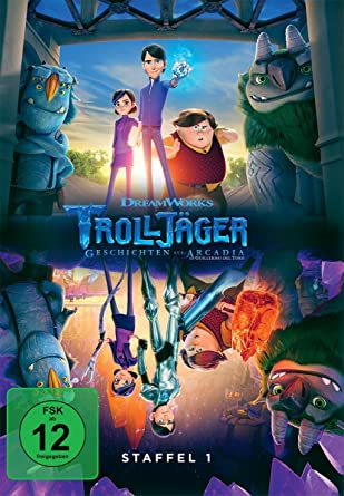 Cover: Trolljäger - Geschichten aus Arcadia Staffel 1, 4 DVD-Videos
