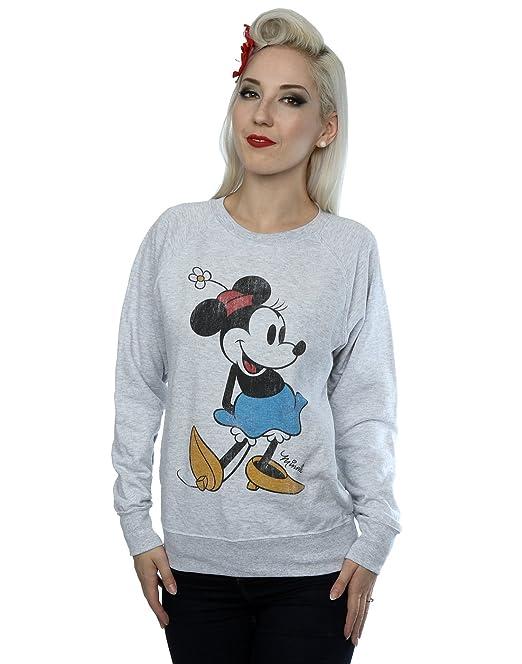 Disney Mujer Classic Minnie Mouse Camisa de Entrenamiento: Amazon.es: Ropa y accesorios