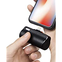 iWALK Mini Portable Charger with Built in Plug for iPhone