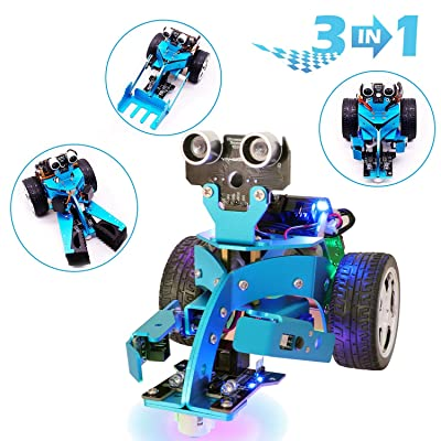 Yahboom Mircobit Coding Robot Kit DIY 3 in 1 Toys Car STEM Education for 10+ Kids to Learning Robotics (Mirco:bit NOT Include): Computers & Accessories