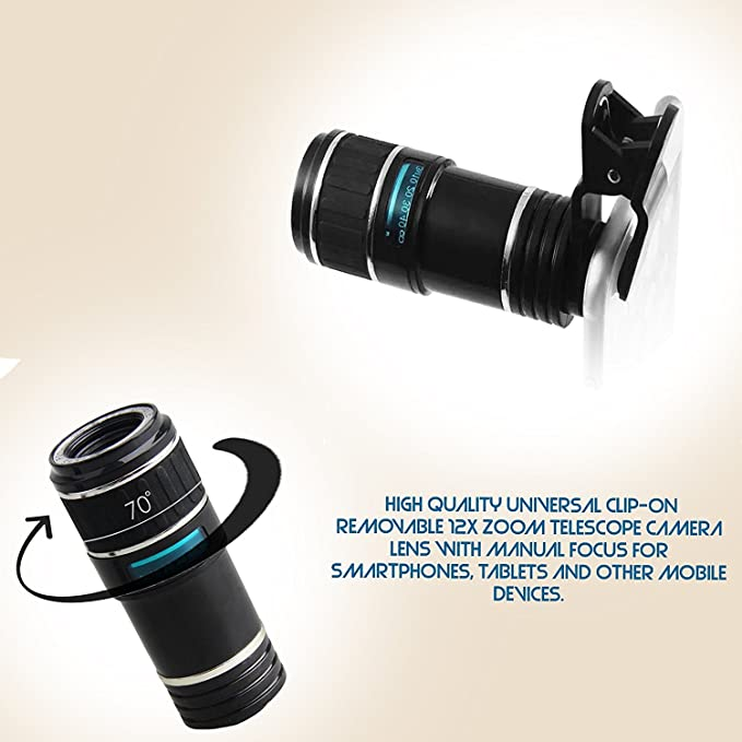 1170bc7ff2b Teconica 8X R Zoom Mobile Telescope Lens Kit with  Amazon.in  Electronics