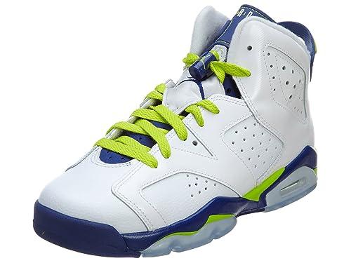 code promo d2626 855ab Nike Air Jordan 6 Retro GG, Chaussures de Running Entrainement Fille