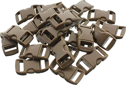 Army Universe 50 Pack - 1 2 quot  Contoured Side Release Buckles Brown ebe4386aa