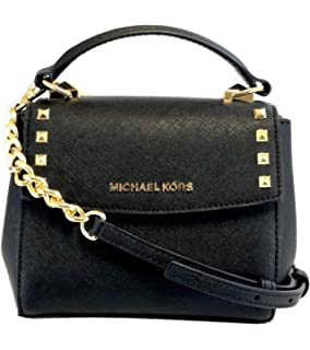 a123e9d3296d Michael Kors Karla Mini Convertible Saffiano Leather Crossbody Handbag