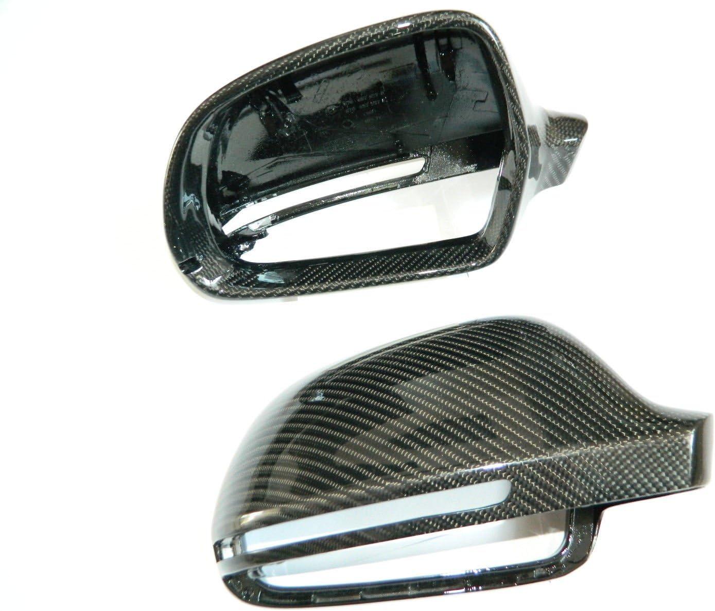 Carbon Spiegel Cover Spiegelkappen Mirror passend f/ür A5 8T A4 B8 A3 8P