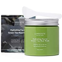 Hydrating Facial Green Tea Mud Mask - Instantly Rejuvenate Appearance Of Dull Skin...