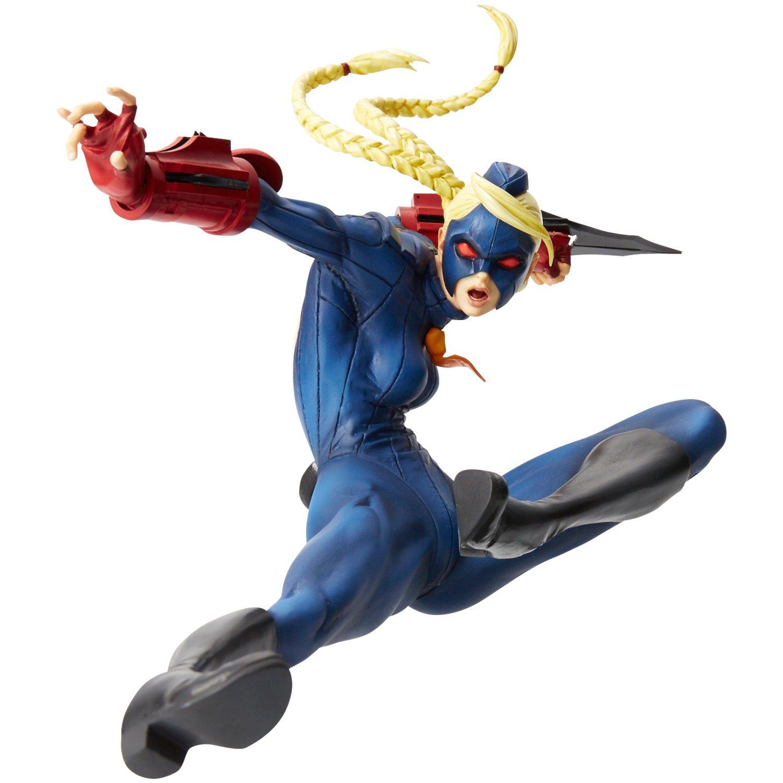 Hdge No 10 Ultra Street Fighter IV Decapre Blau ver. Scale Complete Figure ZERO Character Model Fighting Game Capcom Union CreativeUnion Creative