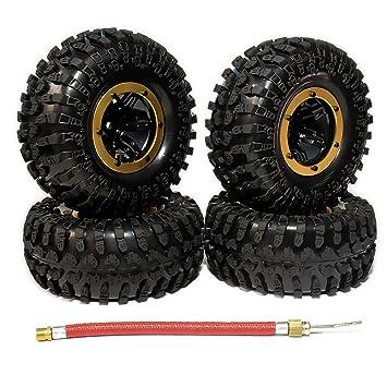 rcawd Hinchable 2.2 Pulgadas beadlock Rueda de neumáticos ...