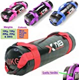 Power Bag Filled Weight Lifting Body Fitness Gym Boxing MMA Training Handles Crossfit Workout Sandbag