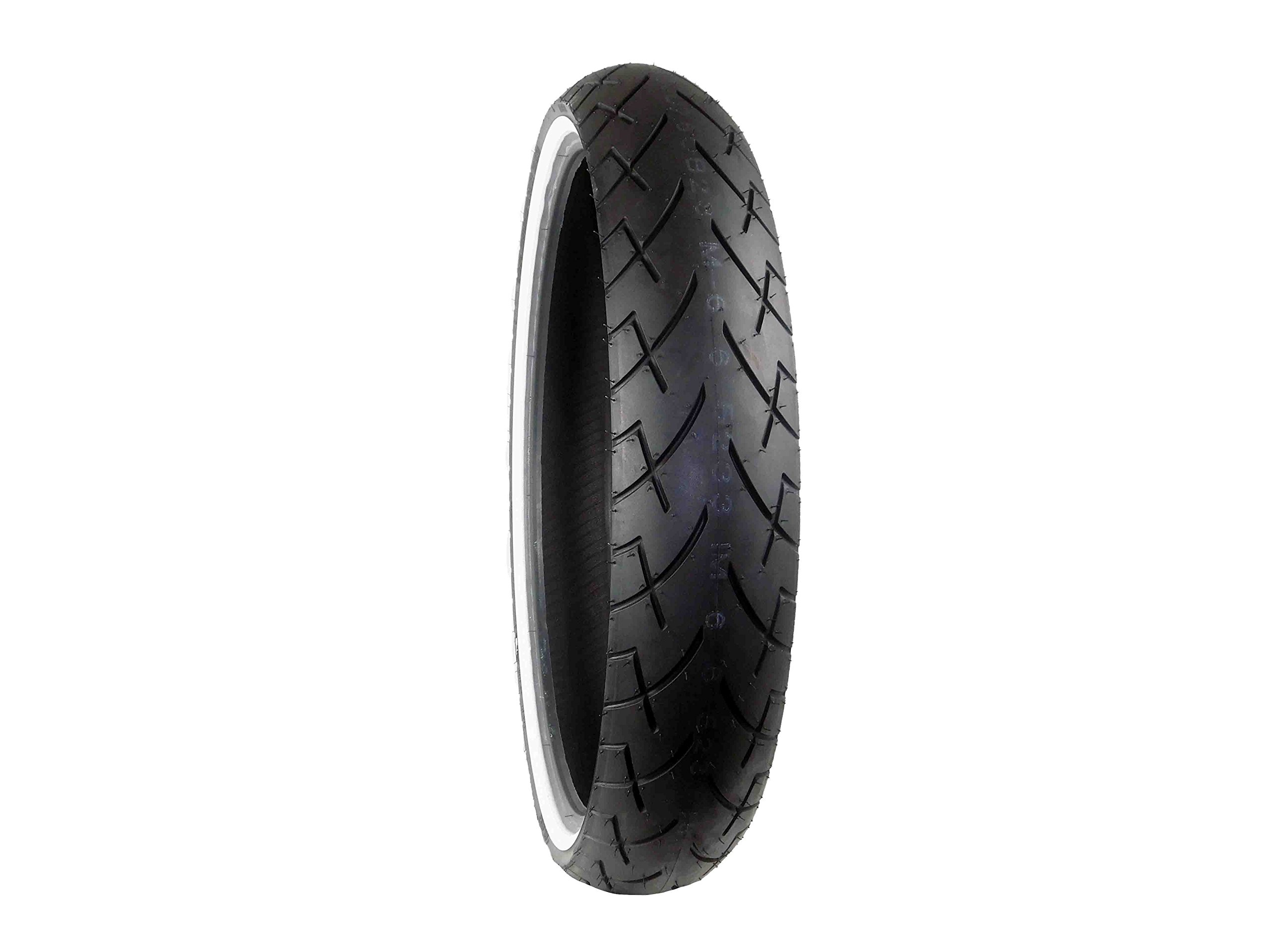 Full Bore 130/60B23 WW F 65V White Wall M66 Cruiser Motorcycle Tire 130/60-23